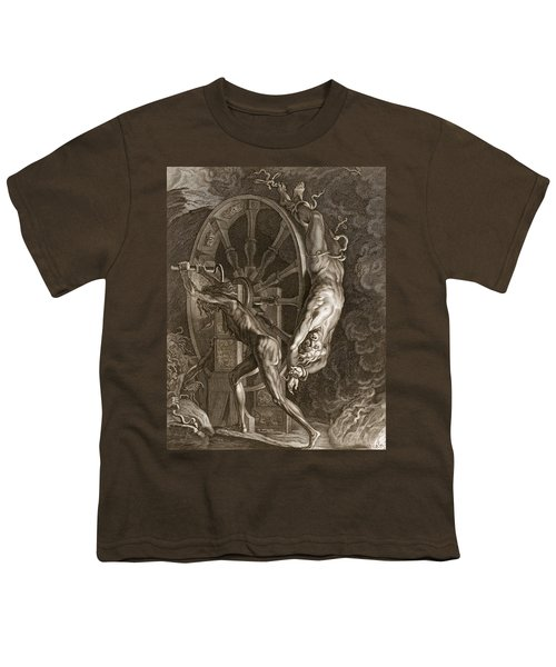 Ixion In Tartarus On The Wheel, 1731 Youth T-Shirt