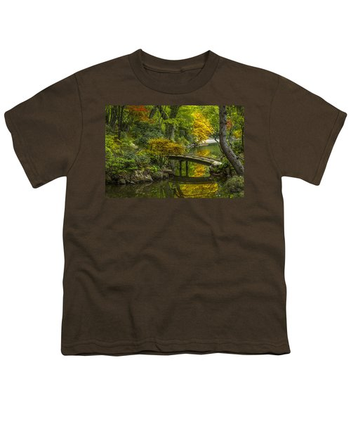 Youth T-Shirt featuring the photograph Japanese Garden by Sebastian Musial