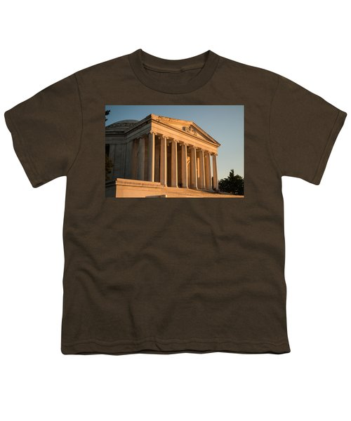 Jefferson Memorial Sunset Youth T-Shirt