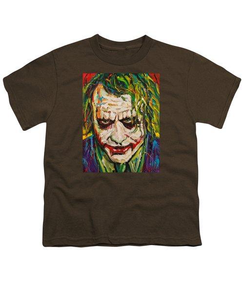 Joker Youth T-Shirt by Michael Wardle