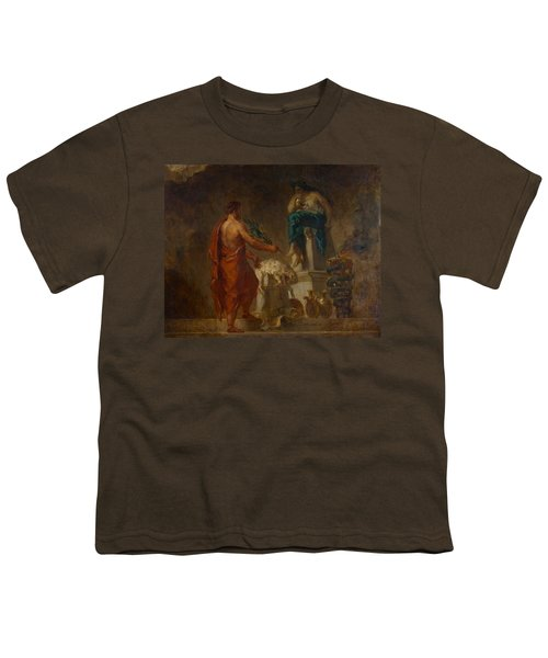 Lycurgus Consulting The Pythia Youth T-Shirt by Eugene Delacroix