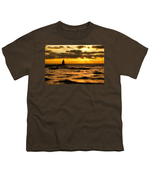 Moody Morning Youth T-Shirt by Bill Pevlor