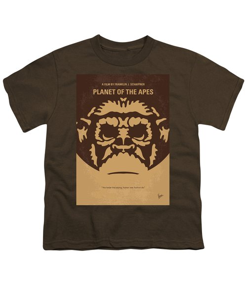 No270 My Planet Of The Apes Minimal Movie Poster Youth T-Shirt