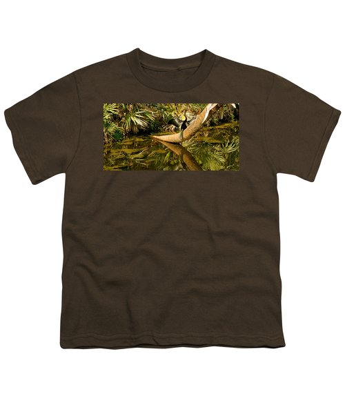 Oriental Darter Anhinga Melanogaster Youth T-Shirt by Panoramic Images