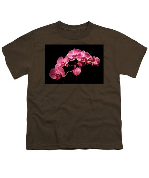 Pink Orchids 3 Youth T-Shirt