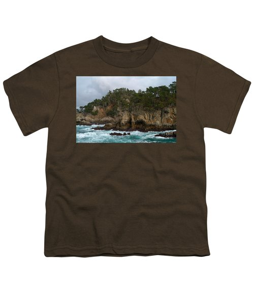 Point Lobos Coastal View Youth T-Shirt