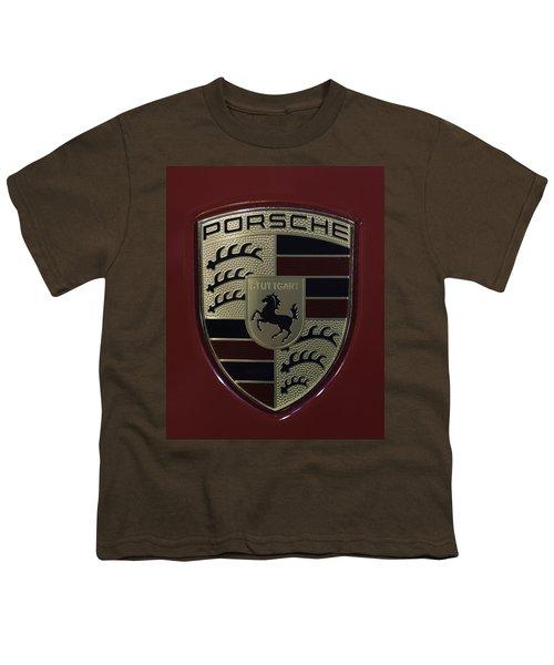 Porsche Emblem Youth T-Shirt