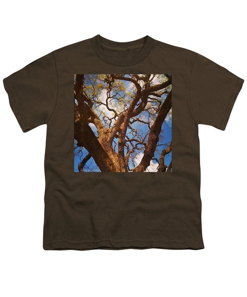 Picnic Under The Giant Oak Tree Youth T-Shirt