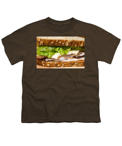 Smoked Turkey Sandwich Youth T-Shirt by Edward Fielding