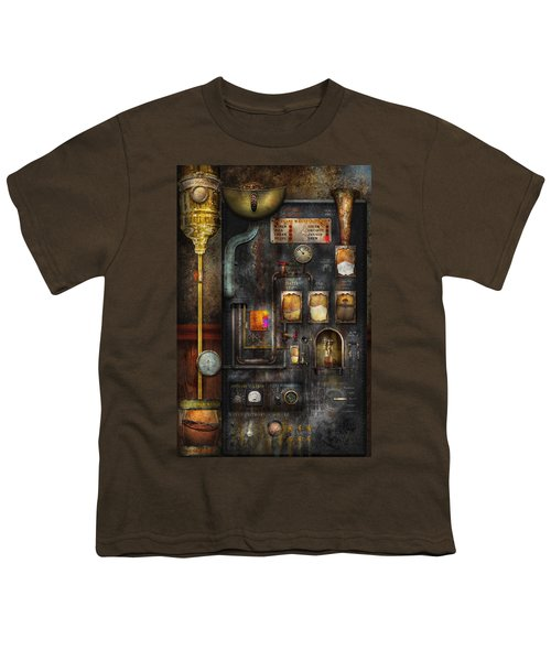 Steampunk - All That For A Cup Of Coffee Youth T-Shirt