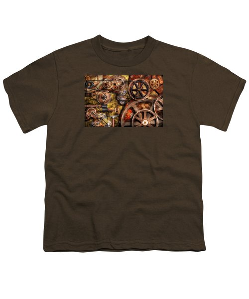 Steampunk - Gears - Inner Workings Youth T-Shirt