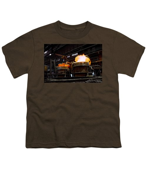 Steel Industry In Smederevo. Serbia Youth T-Shirt