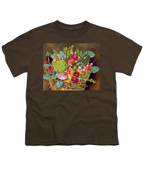 Summer Vegetables Youth T-Shirt by EB Watts