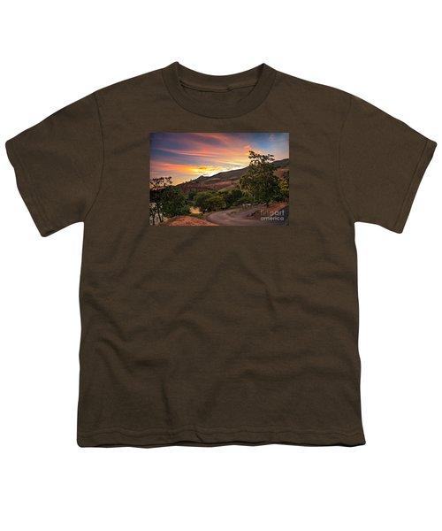 Sunrise At Woodhead Park Youth T-Shirt by Robert Bales