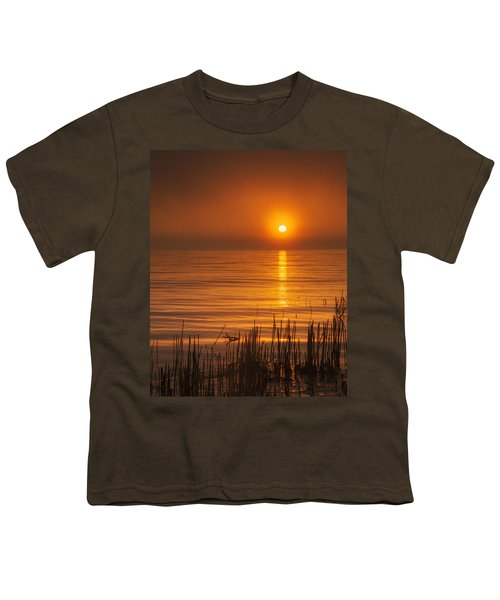 Sunrise Through The Fog Youth T-Shirt by Scott Norris