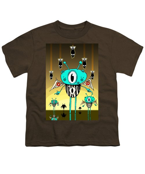 Team Alien Youth T-Shirt by Johan Lilja