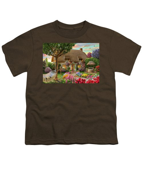 Thatched Cottage Youth T-Shirt