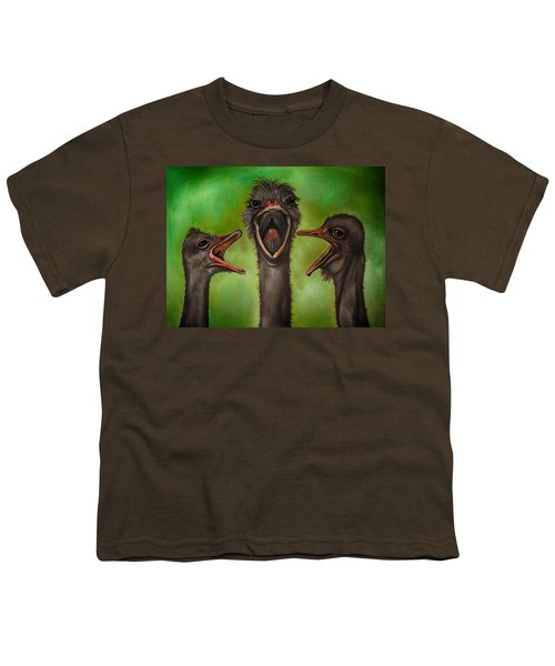 The 3 Tenors Edit 2 Youth T-Shirt by Leah Saulnier The Painting Maniac