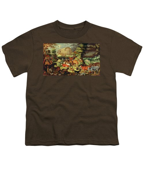 The Animals Entering The Ark Youth T-Shirt