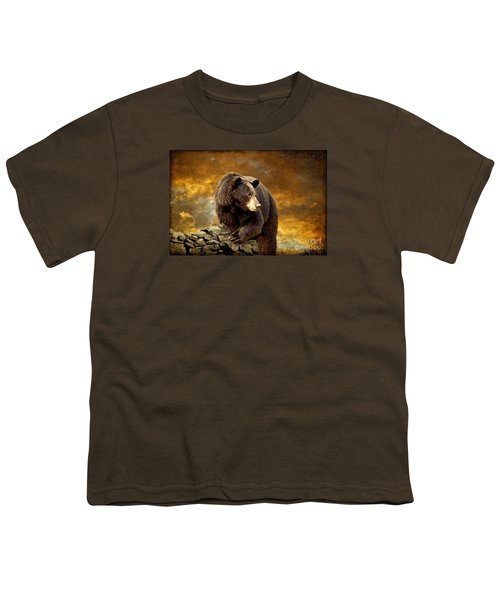 The Bear Went Over The Mountain Youth T-Shirt