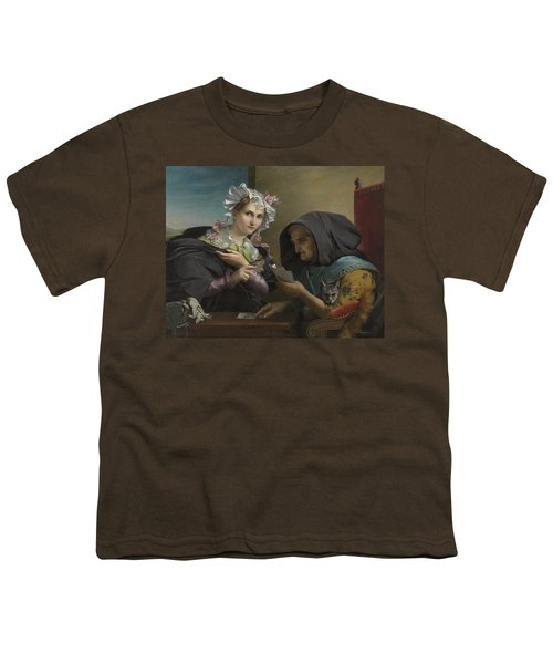 The Fortune Teller Youth T-Shirt by Adele Kindt