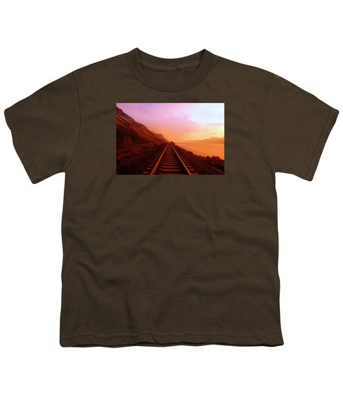 The Long Walk To No Where  Youth T-Shirt