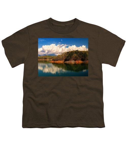 Thunderstorm Rolling Over The Smokies Youth T-Shirt
