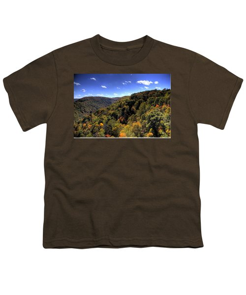 Youth T-Shirt featuring the photograph Trees Over Rolling Hills by Jonny D