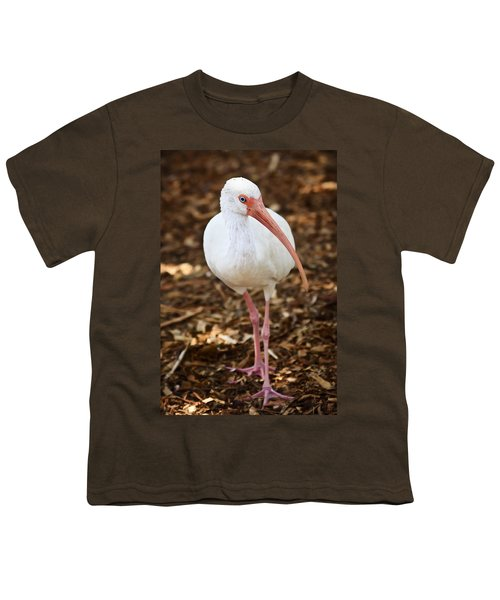 White Ibis Youth T-Shirt