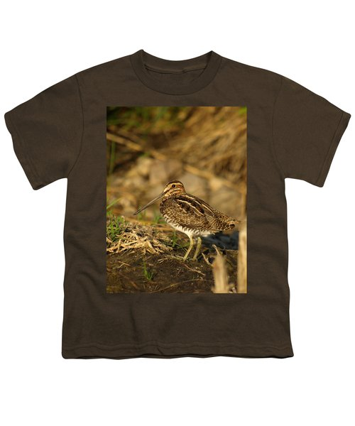 Wilson's Snipe Youth T-Shirt by James Peterson