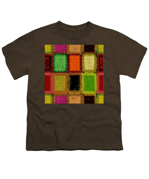 Youth T-Shirt featuring the digital art Color Palette by Mihaela Stancu