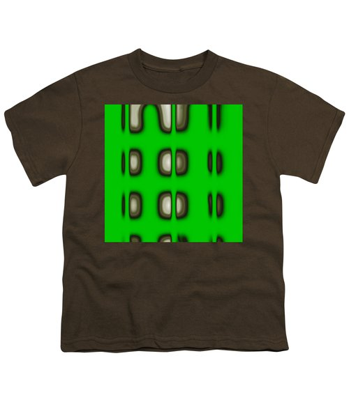 Youth T-Shirt featuring the digital art Follow The Lights by Mihaela Stancu