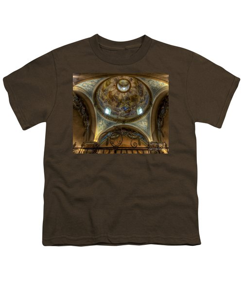 Baroque Church In Savoire France 5 Youth T-Shirt