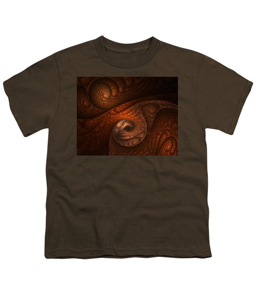 Developing Minotaur Youth T-Shirt by Lourry Legarde