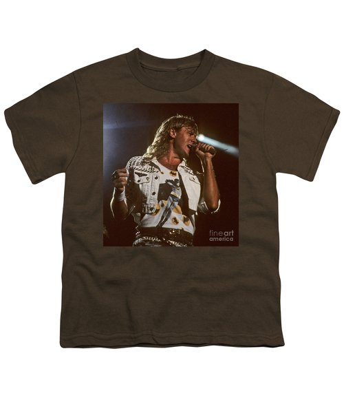 Joe Elliot Youth T-Shirt by David Plastik