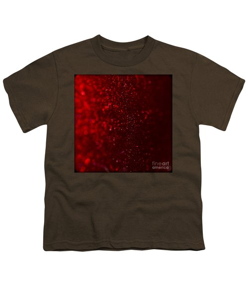 Red Sparkle Youth T-Shirt