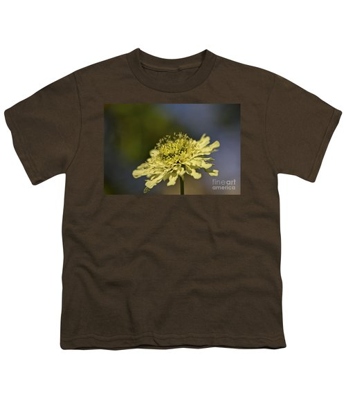 Youth T-Shirt featuring the photograph Soft Yellow. by Clare Bambers