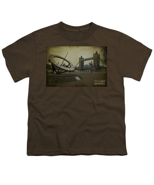 Youth T-Shirt featuring the photograph Timepiece. by Clare Bambers
