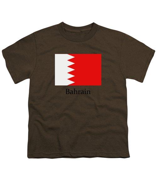 Bahrain Flag Youth T-Shirt