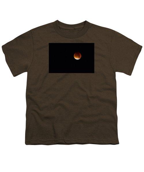 Blood Moon Super Moon 2015 Youth T-Shirt
