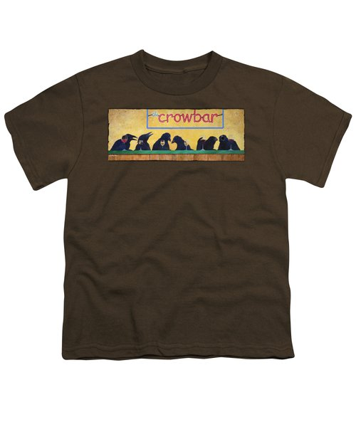 Crowbar Youth T-Shirt by Will Bullas