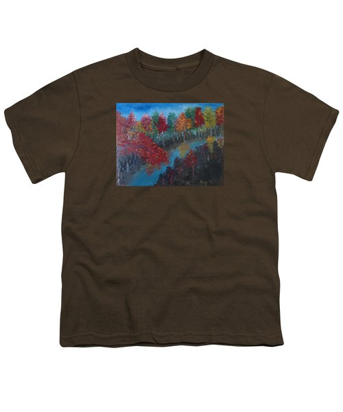 New Hampshire In Autumn Youth T-Shirt