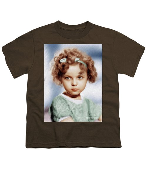 Shirley Temple, Vintage Actress Youth T-Shirt
