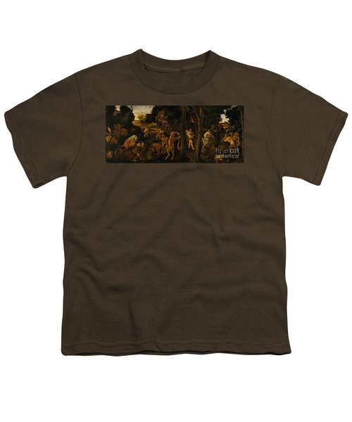 A Hunting Scene Youth T-Shirt