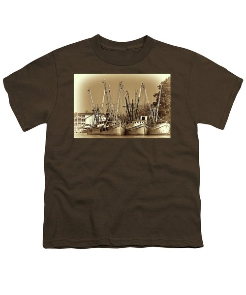 Georgetown Shrimpers Youth T-Shirt by Bill Barber