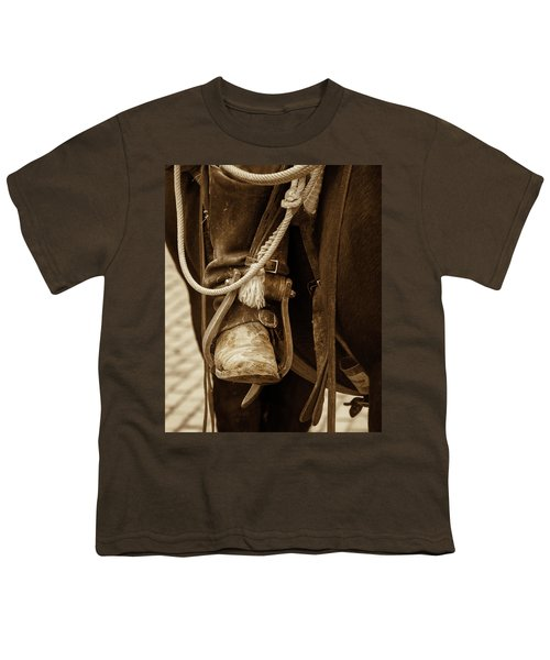A Cowboy's Boot Youth T-Shirt