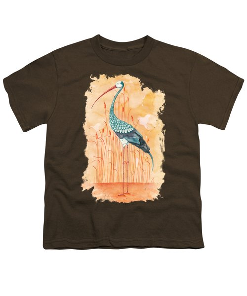 An Exotic Stork Youth T-Shirt