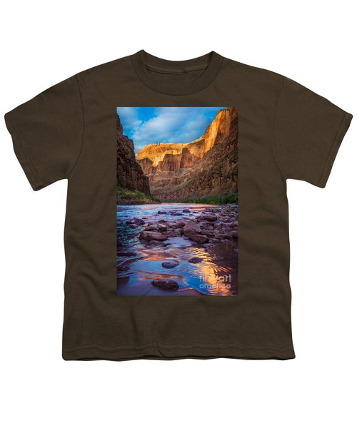 Ancient Shore Youth T-Shirt by Inge Johnsson