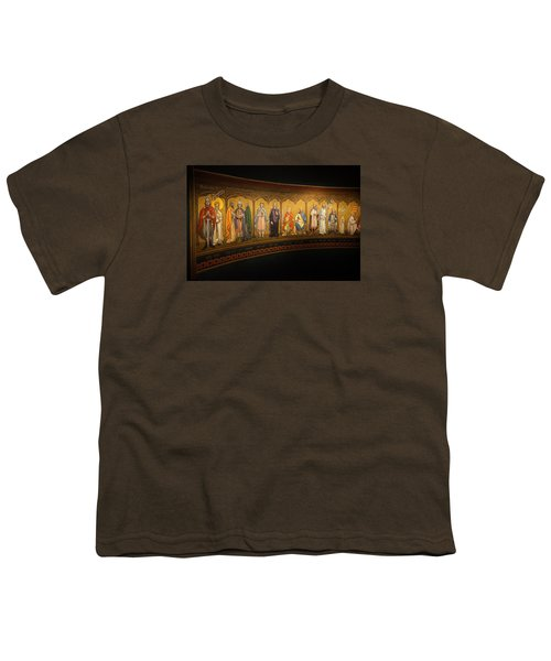 Youth T-Shirt featuring the photograph Art Mural by Jeremy Lavender Photography