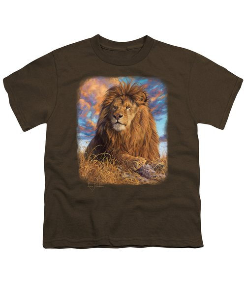 Watchful Eyes Youth T-Shirt by Lucie Bilodeau